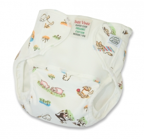 Organic Cotton Diaper Cover by Imse Vimse - Farm