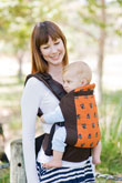 USED Beco Baby Carrier Butterfly II - Owl - Final Sale
