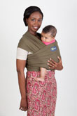 USED Boba Wrap Classic Baby Carrier - Dark Green - Final Sale