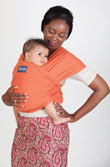 USED Boba Wrap Classic Baby Carrier - Orange - Final Sale