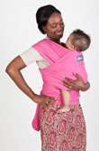 USED Boba Wrap Classic Baby Carrier - Pink - Final Sale