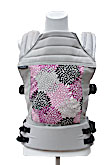 USED Baby Hawk OH SNAP! Baby Carrier Stockholm - Violet Petals on Cloud Straps - Final Sale