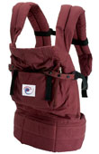 USED ERGO Baby Carrier Original Cranberry - Final Sale