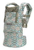 USED ERGO Baby Carrier Petunia Pickle Bottom - Peaceful Portofino - Final Sale