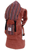 USED ERGO Baby Carrier - Organic Sienna Sunset / Stripe - Final Sale