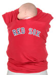 USED - Moby Wrap MLB Edition Baby Carrier, Red Sox, Red - Final Sale