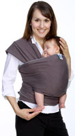 USED Moby Wrap Carrier - Slate - Final Sale