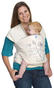 USED Moby Wrap Carrier Designs - Beautiful Life- Final Sale