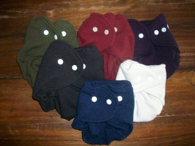 Play All Day Organic Merino Wool Diaper Cover