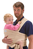 USED Boba Wrap Classic Baby Carrier - Beige - Final Sale
