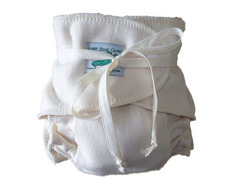 Shamrock by Clover Three-Size, Wrap-Around Organic Diaper
