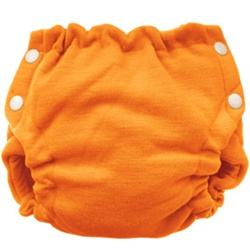 Stacinator Stretch Wool Day/Night Diaper Cover - Melon