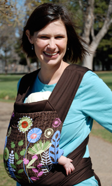 USED Theresa FreeHand Mei Tai Baby Carrier - Final Sale