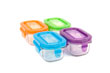 Wean Green Wean Tubs Baby Food Containers - Multi-Color Garden 4 Pack Featuring Grape