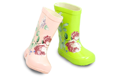 Vincent Shoes Vincent Blomma Toddler Girls Rain Boot