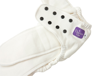 Dream-Eze Organic Cotton Fitted Diaper