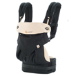 USED ERGO Baby Four Position 360 Baby Carrier, Black Camel - Final Sale