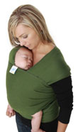 USED Moby Wrap Carrier - Leaf Green- Final Sale