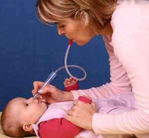 Fridababy Nosefrida Baby Nasal Aspirator With 24 Hygiene