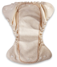 Kissa's Organic Cotton / Hemp Fitted Diapers