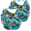 tokidoki x Kanga Care Lil Joey Cloth Diapers - tokiSea