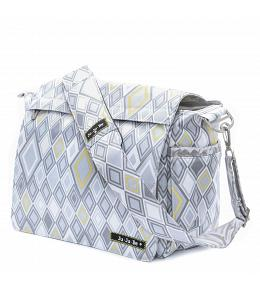 Jujube Silver Ice - Better Be Messenger Diaper Bag