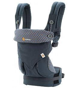 ERGO Baby Carrier - Four Position 360 Baby Carrier Dusty Blue