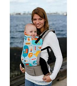 Baby Tula Canvas Carrier - Standard - Message In A Bottle