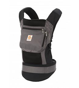 OPEN BOX LIKE NEW Ergo Baby Carrier Original Cool Air Mesh - Charcoal Black - FINAL SALE