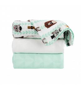 Baby Tula Blankets Set of 3 - Clever