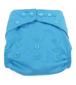 Dandelion Diapers Diaper Covers  with Snaps- One Size - Sky