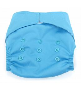 Dandelion Diapers Diaper Cover with Hook and Loop- One Size - Sky