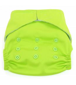 Dandelion Diapers Diaper Cover with Hook and Loop- One Size - Kiwifruit
