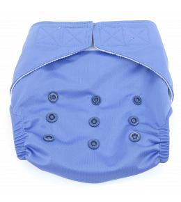 Dandelion Diapers Diaper Cover with Hook and Loop- One Size - Periwinkle