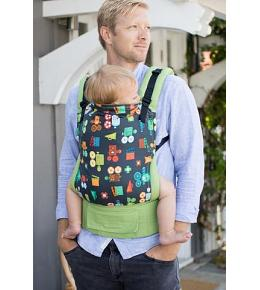 Baby Tula Canvas Carrier - Standard -Let Me Entertain You