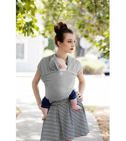 Moby Wrap Carrier - Coastal Collection - Harbor Mist