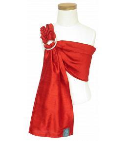 Koru Carrier Mini Doll Toy Ring Sling - Firey Red