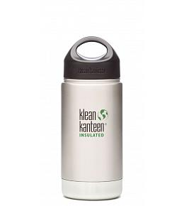 Klean Kanteen Brushed Stainless Wide Insulated (Loop Cap)