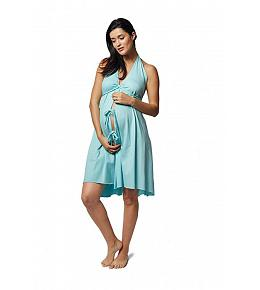 Pretty Pushers Original Labor & Delivery Gown - Ice Blue