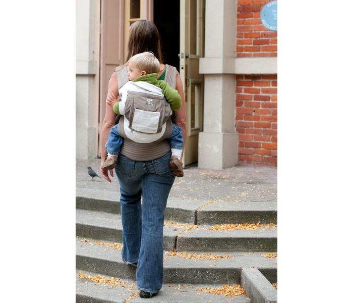 63102cf0a65 Onya Baby - The Cruiser Baby Carrier by Onya Baby - Dove Chocolate ...