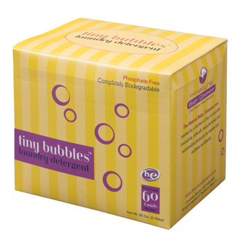 Tiny Bubbles Biodegradable Laundry Detergent Phosphate-Free - Case of 6