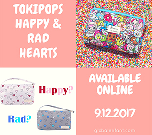 Ju Ju Be Tokipops Happy & Rad Hearts